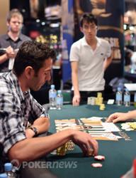 Bjorn Li doubles through Oliver Speidel