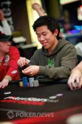 Christopher Park - Day 1a chipleader