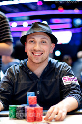 Nick Yunis - the chip leader