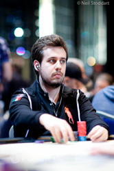 Max Martinez is our chip leader