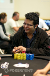 Amit Varma is the chip leader