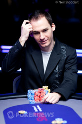 Justin Bonomo - the Super High Roller Chip Leader