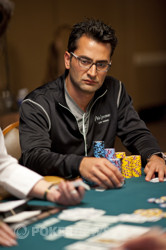 Antonio Esfandiari on top