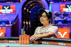 Joseph Cheong takes a big lead.