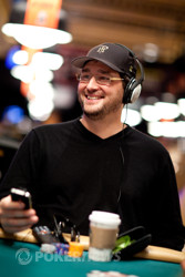 Phil Hellmuth isn't all smiles anymore.