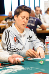We tried to catch an orbit with Vanessa Selbst but we may have coolered her.