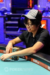 Joseph Cheong wins four straight hands.