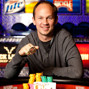 John Monnette and his second WSOP gold bracelet