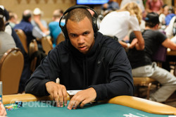 Phil Ivey has his first cash of the series locked up