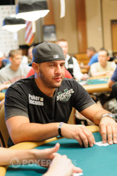 Michael Mizrachi was just relieved of a good portion of his stack.