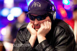 The Face of an Eleven Time WSOP Champion