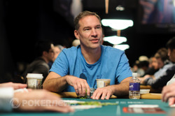 Ted Forrest (Day 1) looking to win his first WSOP bracelet since 2004.
