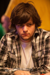 Dylan Horton is the final table bubble boy