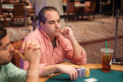 Matt Glantz is one of the new chip leaders