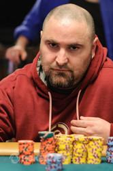 Robert Muzzati has a slight lead over Mark Darner