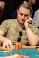 Andy Frankenberger doubles through Bevand