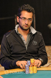 Antonio Esfandiari (pictured in less chatty times)