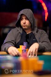 David Baker - in search of his first WSOP bracelet.
