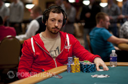 Brian Rast ends the night as one of our chip leaders.