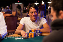 Terrence Chan the chip leader