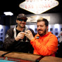 Phil Hellmuth and Max Pescatori