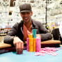 Ronnie Bardah collects all the chips