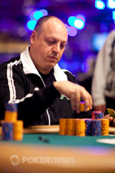 Chip leader, Jeff Lisandro