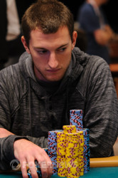 Joey Weissman leads going into the final day