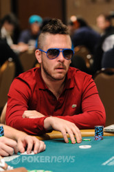 Yuval Bronshtein has a huge amount of chips heading into Day 2