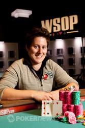 Vanessa Selbst, after winning Event 52