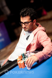 Antonio Esfandiari leads final table