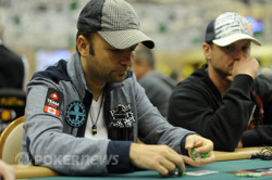 Daniel Negreanu - above average in chips and looking to make a deep run!