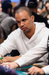 Phil Ivey looks to make another final table.
