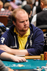Christopher Brammer is our new chip leader