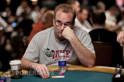 """Mike Matusow (Day 1) - Out of this """"f***ing tournament"""""""