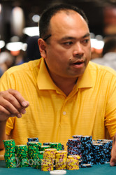 Alex Cordero - Your Day 2 chip leader.