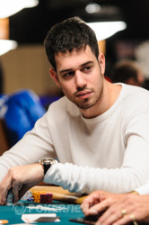 Nick Schulman Among the Chip Leaders