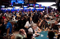 Day 1b at the 2012 WSOP Main Event
