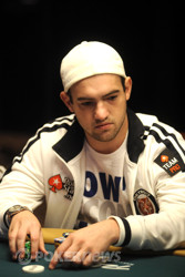 Joe Cada misses a bit of value, but is still well above the average stack