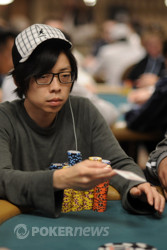 Joseph Cheong turned an attempted bluff into trips.