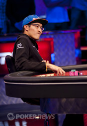 Huy Nguyen is eliminated in 3rd