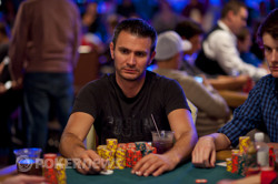 Andras Koroknai (Day 4) doubles with aces