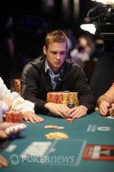 Kyle Keranen is the new chip leader!
