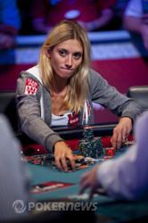 Gaelle Baumann Stacking Her New Chips