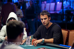 Chip leader Marc Ladouceur