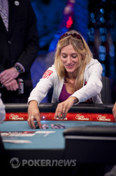 Gaelle Baumann doubles again