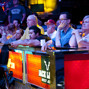 Standing Room Only Rail at the ESPN TV Feature Table