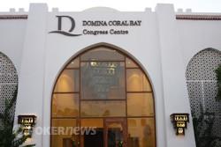 La Sala Congressi del Coral Bay Resort, pronta ad accogliere i giocatori
