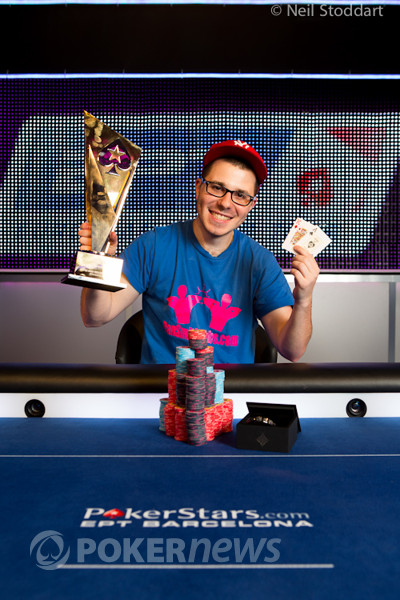 EPT Barcelona €50,000 Super High Roller Champion Dan Smith