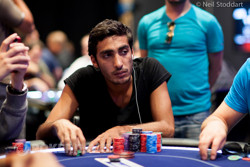 Guy Bachar on Day 1b.